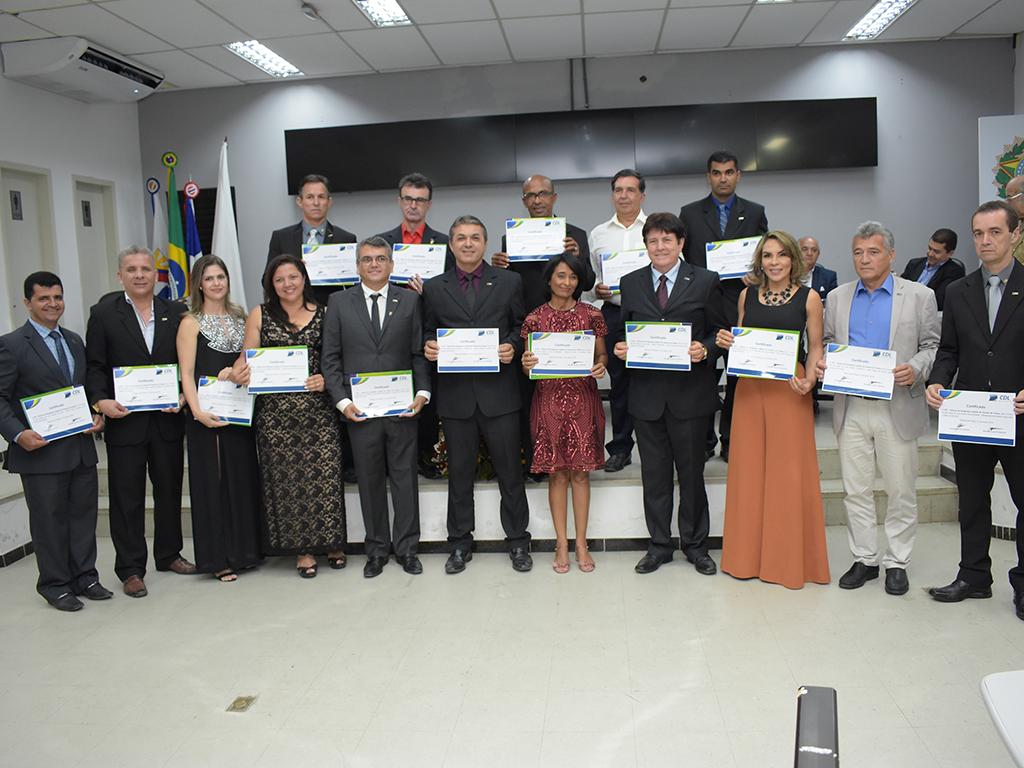 Cerimônia de posse da nova diretoria da CDL